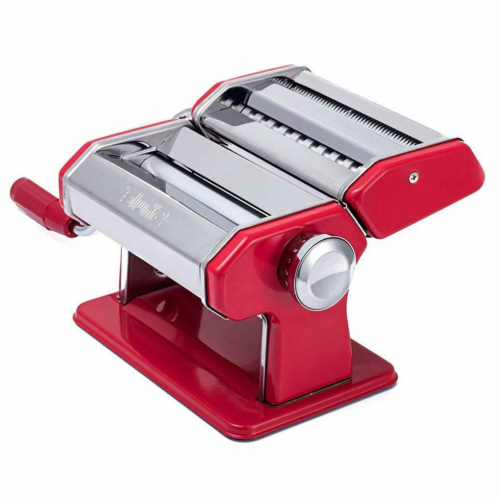 Shule Pasta Stainless Steel Pasta Machine Includes