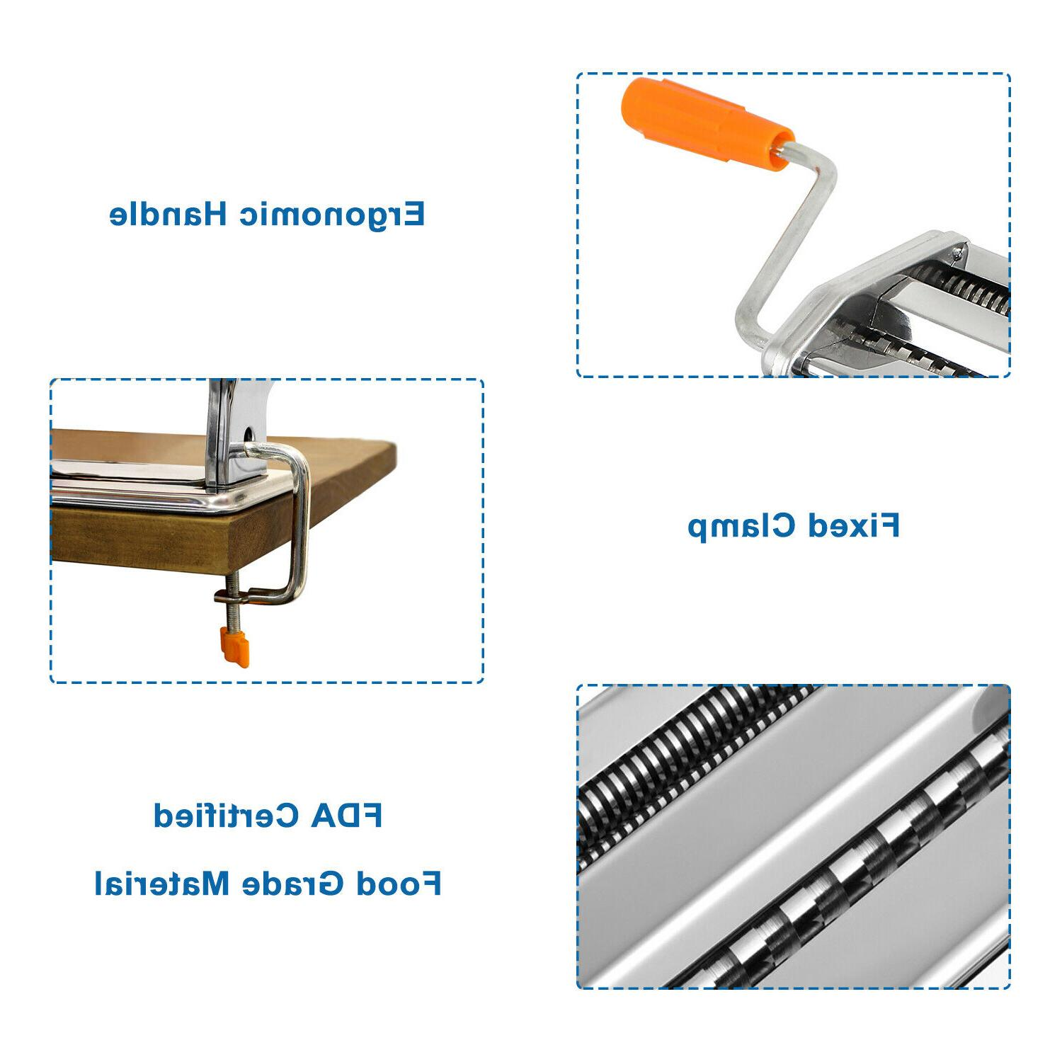 Pasta Stainless Steel Roller Noodle Spaghetti