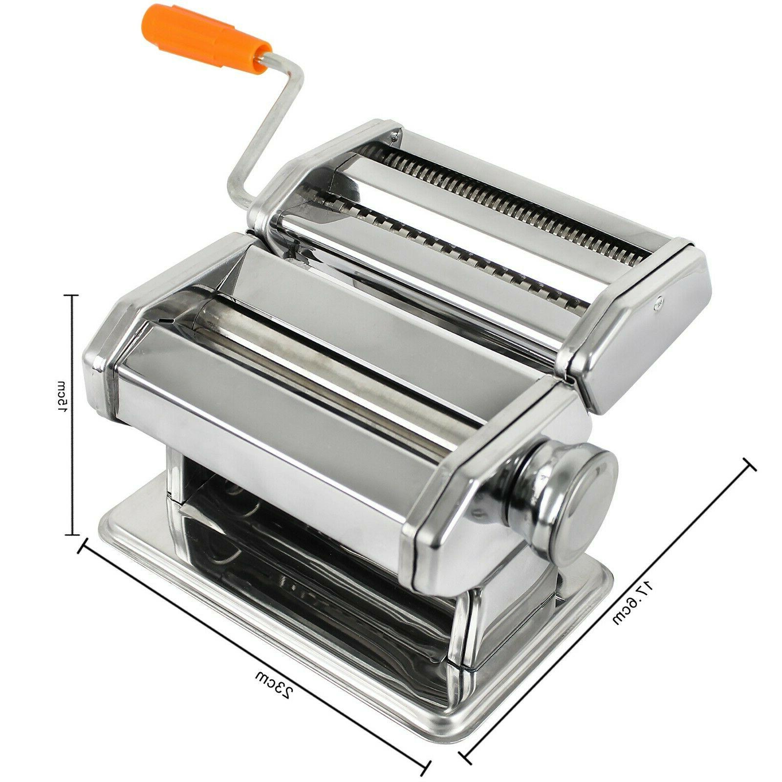 Pasta Maker Stainless Roller Fresh Noodle