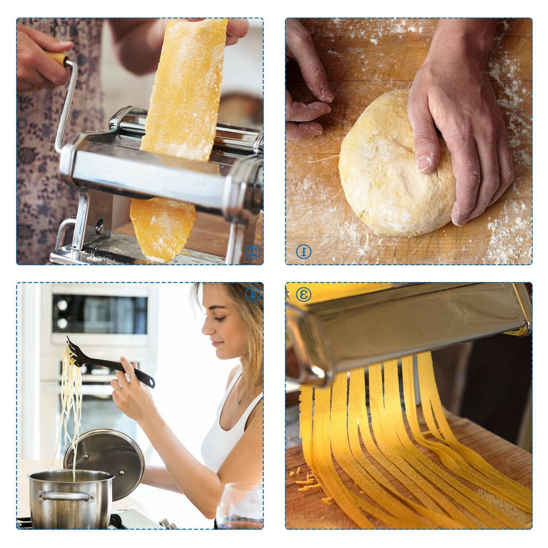 Pasta Maker Roller for Noodle Spaghetti Fettuccine