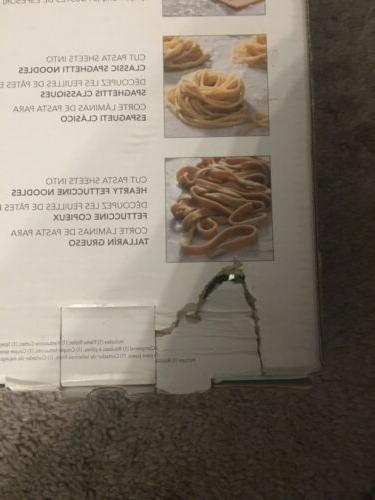 KitchenAid & Fettuccini/Spaghetti Cutter