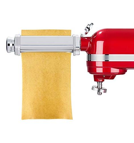 3 Piece Pasta Roller Cutter Set with Included Sheet Spaghetti Cutter, Cutter Maker Accessories and Brush