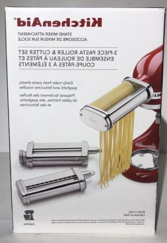 pasta roller cutter attachment set
