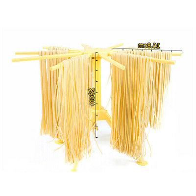 Plastic Spaghetti Pasta Racks Collapsible Hanging Stand Household