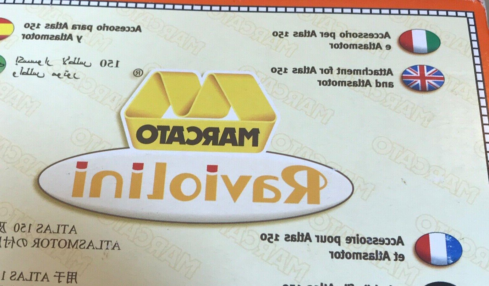 reginette pasta sheeter cutter attachment atlas 150mm