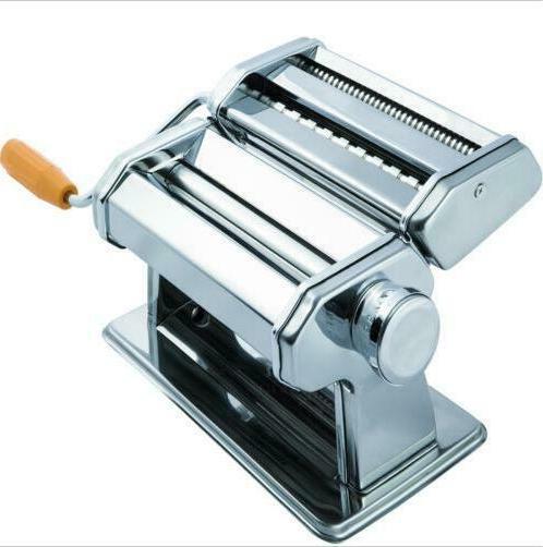 stainless steel fresh pasta maker roller machine