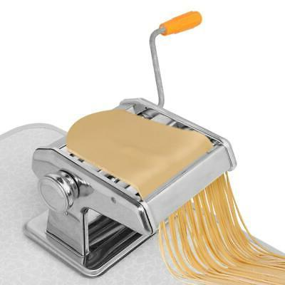 stainless steel fresh pasta maker roller machine