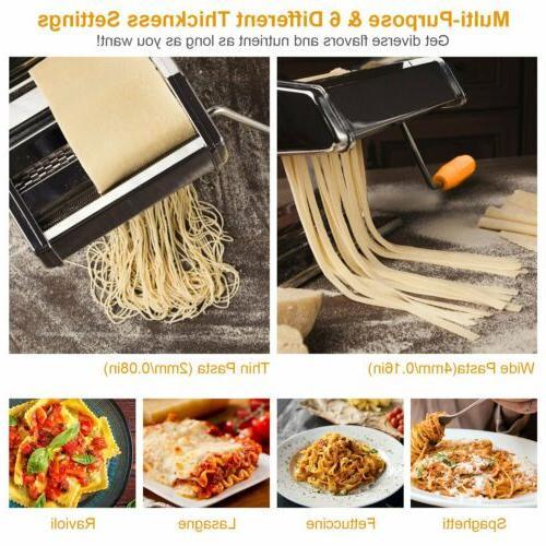 Pasta Maker Steel Noodle w/ Pasta Cutter
