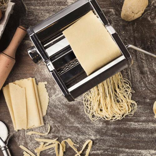 Pasta Steel w/ Pasta Cutter