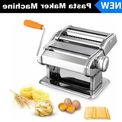 stainless steel fresh pasta noodle dough maker