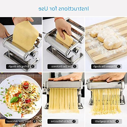 Alloyseed Homemade Noodle with Adjustable Pasta Hand