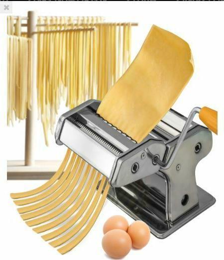 Oxgord Stainless Pasta Maker Machine -