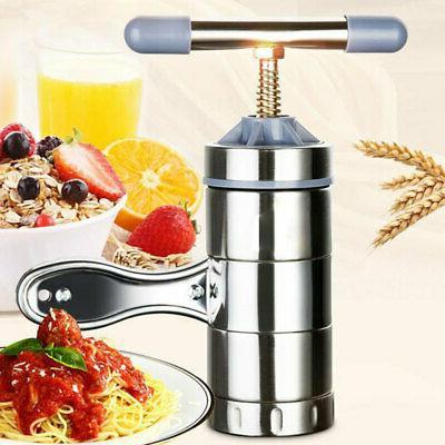 Stainless Steel Pasta Maker Roller Machine Spaghetti&Fettuccine