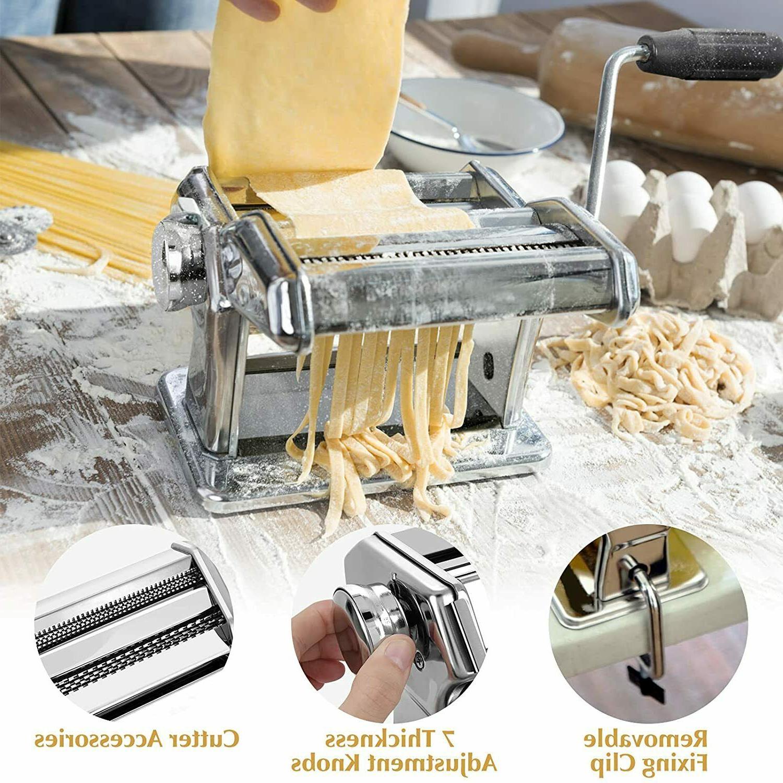 Stainless Steel Machine Lasagna Spaghetti Tagliatelle Ravioli Maker