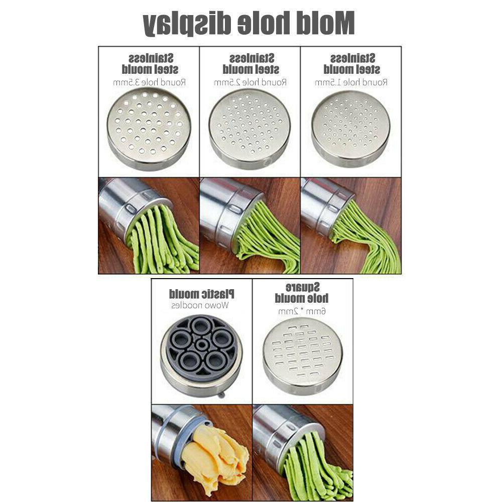 Stainless Steel Pasta Noodle Maker Spaghetti Kitchen Machine