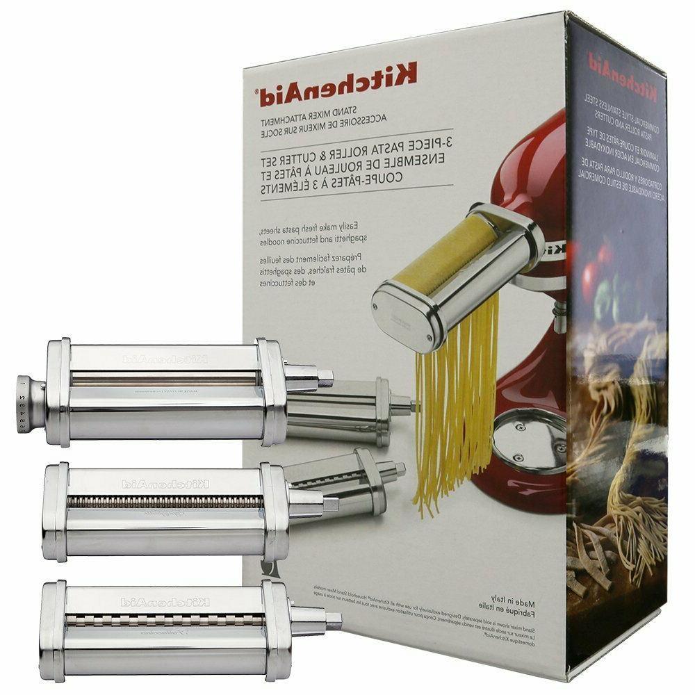 stand mixer 3 piece pasta roller