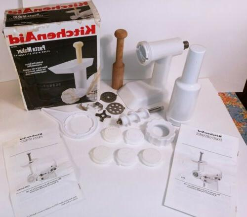 stand mixer attachment pasta maker food grinder