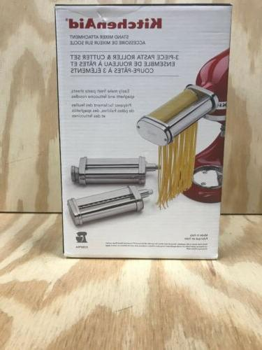 stand mixer attachment with pasta roller attachment