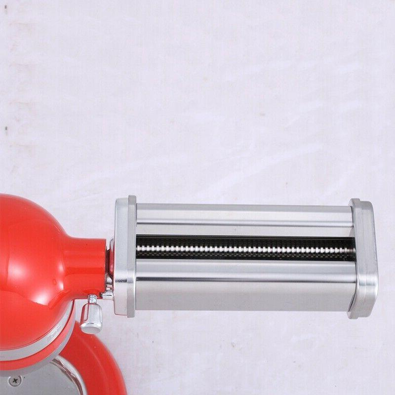 US Stainless Roller Cutter Set Attachment for KitchenAid
