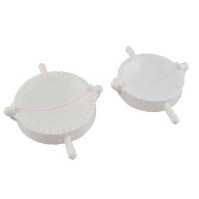 white plastic meat pie dumpling