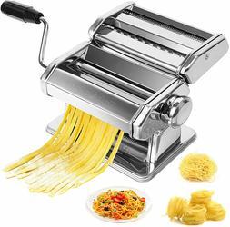 Stainless Steel Fresh Pasta Maker Roller Machine for Spaghet