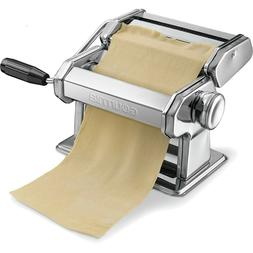 Maker Pasta Spaghetti Roller Machine Slicer Stainless Steel
