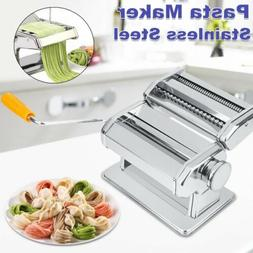 Manual Fresh Pasta Maker Roller Machine for Spaghetti Noodle