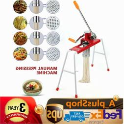 Manual Hand Pasta Maker Pasta Noodle Making Machine Press No