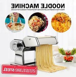 Manual Pasta Roller Cutter Noodles Maker Machine Spaghetti F