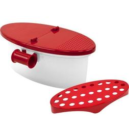 Time Roaming  VersaMicrowave Pasta Boat, Sturdy Food Grade H
