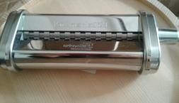 new ksmpsa fettuccine pasta roller attachment silver
