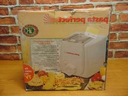 NEW PASTA PERFECT MAKER ELECTRIC GOURMET ROYALE MODEL PM-600