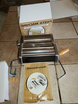 Norpro Pasta Machine 9 Setting Stainless Steel Brand New