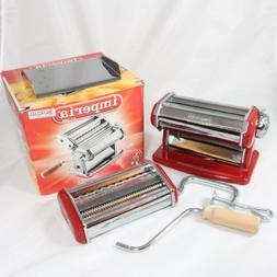 Imperia Pasta Machine with Fettuccine & Linguine Attachment,