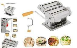 Pasta Machine, Stainless Steel Manual Pasta Maker Roller Mac