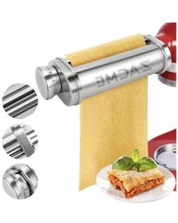 Pasta Maker Attachment, ZACME Washable Stainless Steel Pasta