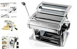 Pasta Maker By  – Stainless Steel Pasta Machine Includes P