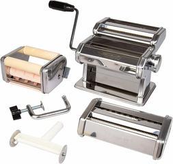 CucinaPro Pasta Maker Deluxe Set 5 Piece Machine