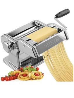 Pasta Maker Deluxe Set with Attachments - Silver