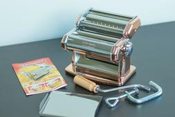 Imperia Pasta Maker Machine - Heavy Duty Stainless Steel w/