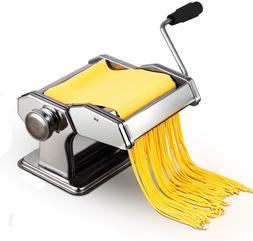 Pasta Maker Machine Home Kitchen Stainless Steel Hand Crank