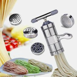Pasta Maker Machine Manual Noodle Makers Stainless Steel Pas
