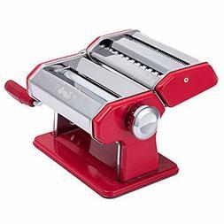 Shule Pasta Maker Machine Stainless Steel Adjustable Roller