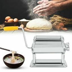 Pasta Maker Machine Stainless Steel Noodle Machine w/ Pasta