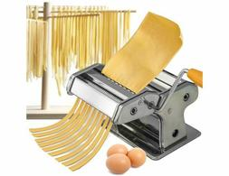 Pasta Maker Machine Stainless Steel Roller Noodle Fresh Spag