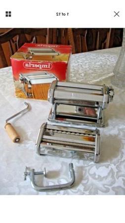 Imperia Pasta Maker Made In Italy 1932 Lasagna,noodle, Fettu
