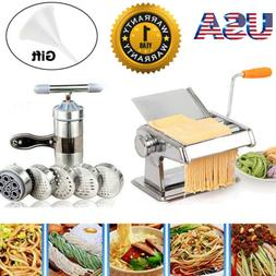 pasta maker roller machine fresh noodle spaghetti