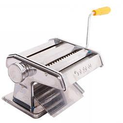"150mm 6"" Pasta Maker & Roller Machine Noodle Spaghetti & Fet"