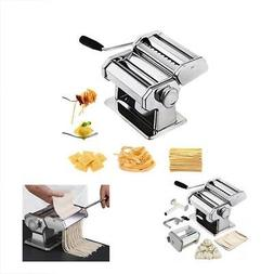 CHEFLY Pasta Ravioli Maker Set All in one 9 Thickness Settin