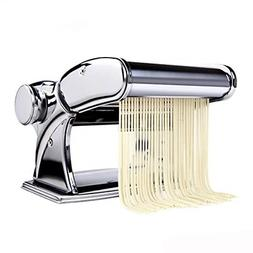 Pasta Maker Stainless Steel Roller Machine Includes Cutter H